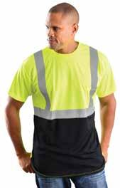 Features (2) pockets and zipper closure. ANSI 107-2010 Class 3 compliant.
