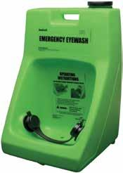 Suitable for nuisance situations such as dust or particle flushing where a 15-minute flushing device is not a requirement. Hi-viz green.