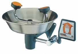 G1814BC G1814 B73102031 Eyewash w/ stainless steel bowl G1814P B73102041 Eyewash w/ ABS plastic bowl G1814BC B73111141 Eyewash w/ stainless steel bowl & cover G1814P G1750 G1750 Series Eye/Face