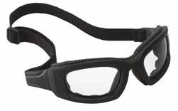 40305-00000-10 665572971 Centurion splash goggles Clear Clear, anti-fog 3M Lexa Splash GoggleGear Lightweight, low-profile, contoured design with soft PVC shroud that gently hugs the face.