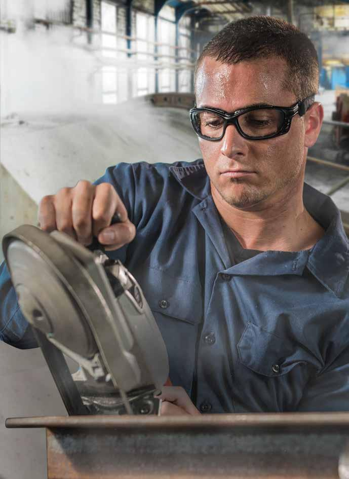 New Category Products Page 26 Uvex Livewire Sealed Eyewear with HydroShield Delivers the fit, performance and protection required in extreme environments, protecting workers against intense wind,