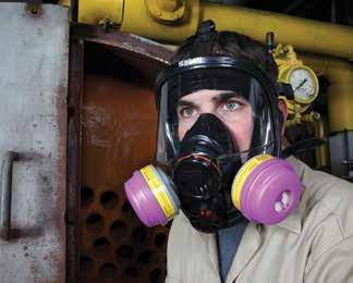 Category Respiratory Protection Reusable North 5500 Series Half Mask Respirators Thermoplastic elastomer mask is soft and comfortable; free of latex allergens.
