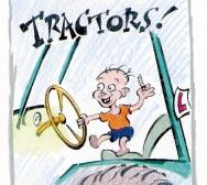 Rule 2 TRACTORS ARE NOT FOR CHILDREN! If you re under 14, the Code says you must never drive a tractor.
