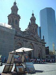 Religion Santiago's Metropolitan Cathedral Main article: Roman Catholicism in Chile Most of Chile's population is Catholic and Santiago is no exception.