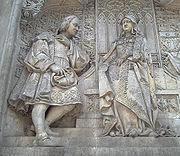 However, to keep Columbus from taking his ideas elsewhere, and perhaps to keep their options open, the Catholic Monarchs gave him an annual allowance of 12,000 maravedis and in 1489 furnished him