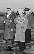 The 1940 Constitution President Carlos Prío Socarrás (left), with US president Harry S. Truman in Washington, 1948. In 1940, Cuba had free and fair elections.