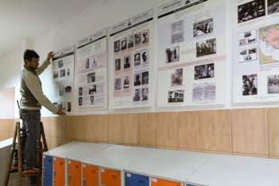 Permanent exhibition on the Judenlager Semlin at the
