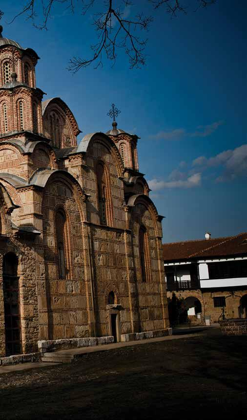 STORIES OLD AND NEW OF A COUNTRY THRIVING The Gračanica Monastery sits on the ruins of a 6th century early