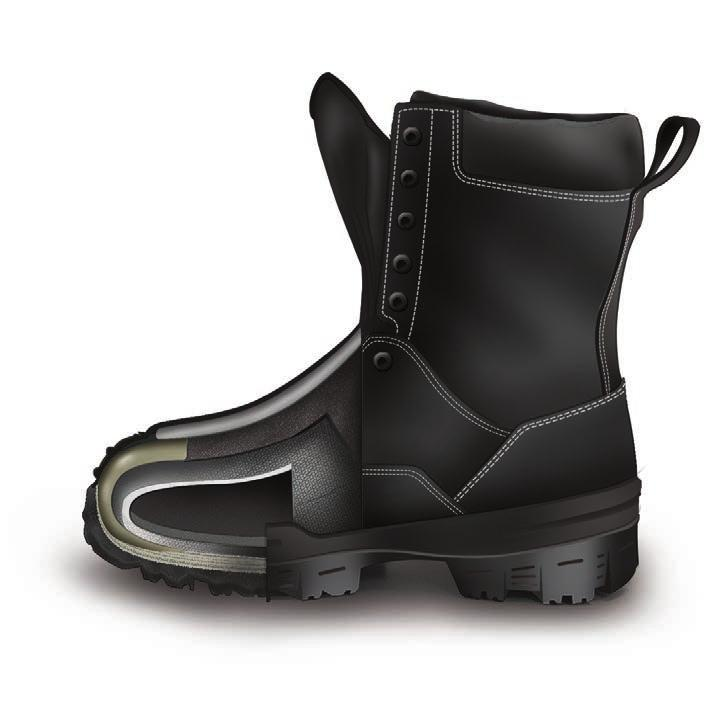 6300VT BLACK 7 7,5 8 8,5 9 9,5 10 10,5 11 12 13 14 REGULAR Assembled in Canada 10 inch boot Waterproof and breathable