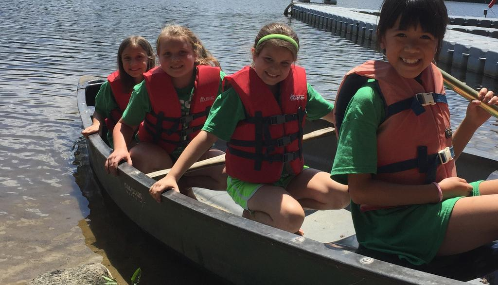 On a beautiful lakefront, campers experience swimming, boating, high and low ropes activities, archery, sports, group games, science, history, theater, arts and crafts and so much more!