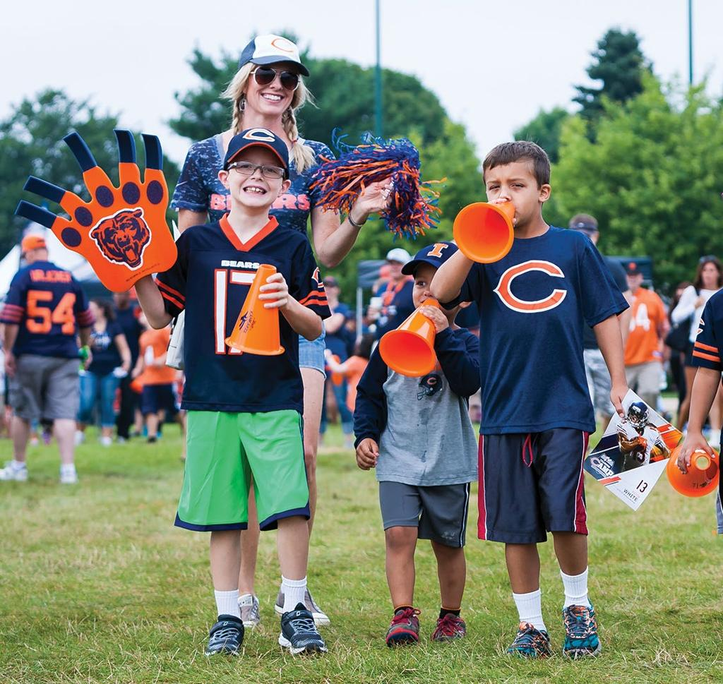 Share your love of the Chicago Bears with the entire family!