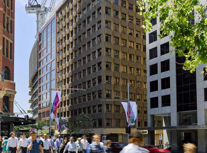 Street development, anchored by tenant AGL. The total price paid for the 50 per cent interest in 699 Bourke Street was $73 million.