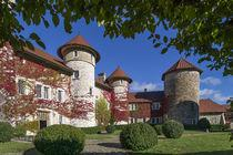 CHÂTEAU DE THORENS HHHH In the exceptional setting of the Château de Thorens, which their family has lived in since 1602, Isabelle and Marie de Roussy de Sales welcome you to an equipped holiday