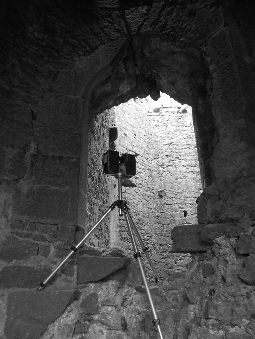 3D Laser scanning BaLlintober Castle Survey Report