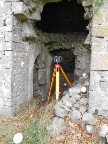 3D Laser Scanning: Ballintober Castle Survey Objective The Discovery Programme was contracted by Dr Niall Brady to undertake the 3D recording of the castle using terrestrial laser scanning technology.