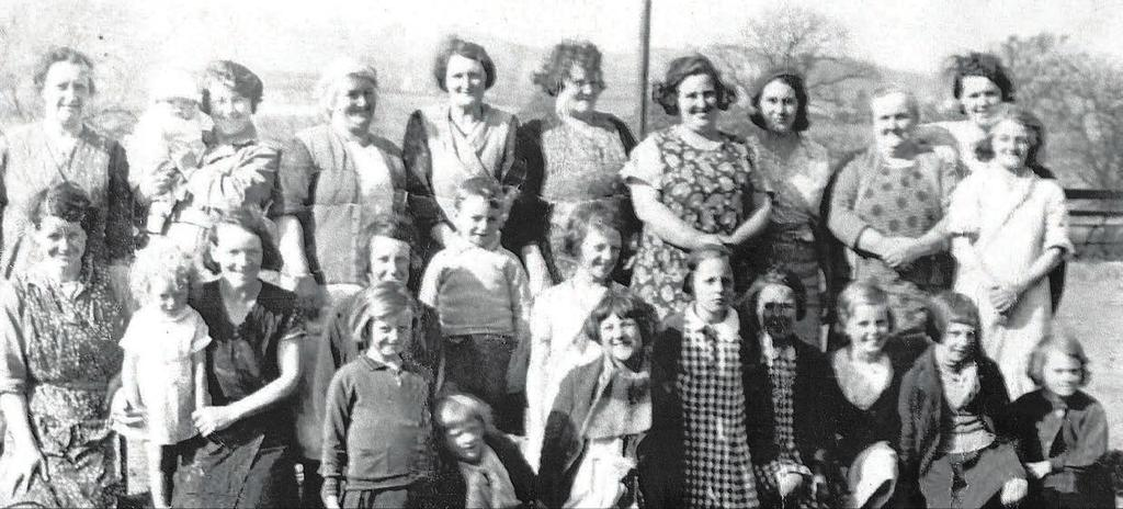 GHS A Wartime Childhood By Mrs Hannah Bateman Allandale Women 8 Our home was one of the fifty red sandstone terraced cottages in Allandale.