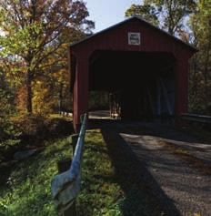 At one time there were more than fifty covered bridges in Washington County, providing shelter and safe passage across rivers and creeks.