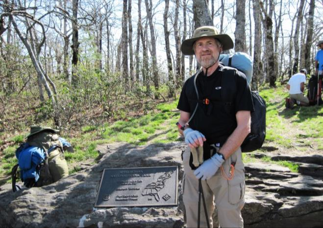 Hiking the Appalachian Trail Through the Eyes of Thomas Rudy by Gail Scott T he Hampton Community Library will host an event about hiking on Saturday, January 30 th from 1 to 4 pm.