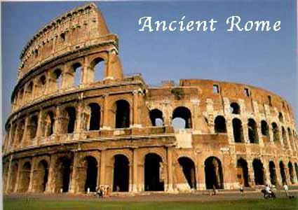 The Roman Coliseum has a
