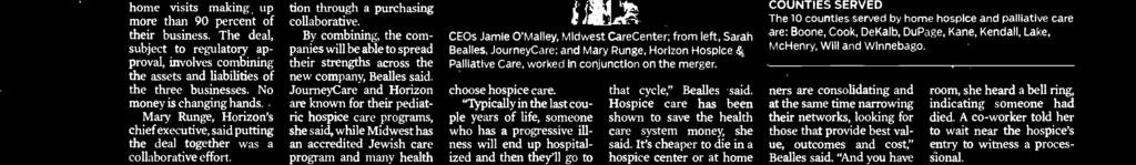 choose hospice care.