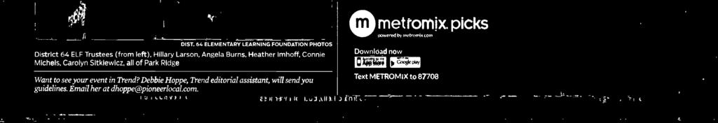 and more time doing. metromix picks 01ST.