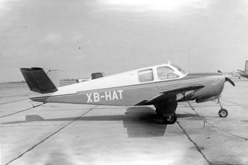 3.13 by FAA as Certificate Expired D-864 Built 1947 Type 35 US Export Certificate issued 1.9.47 Regd.... XB-HAT cc by 1.1.76 D-864 XB-HAT (elbiplano.