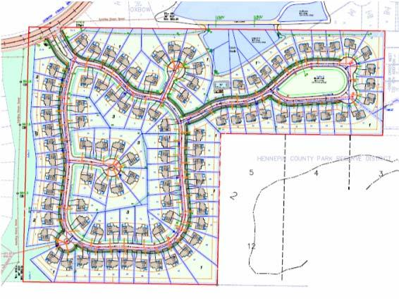 Additionally, a modification to the Wickford Village master plan was reviewed reducing the number of attached units and introducing single family units into the development.