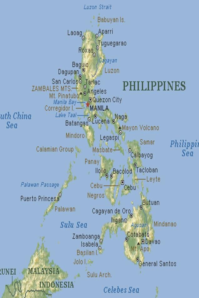 2.0 GEOGRAPHY AND PHYSICAL FEATURES 2.1 Geographical Location General Santos City lies at the Southern part of the Philippines.