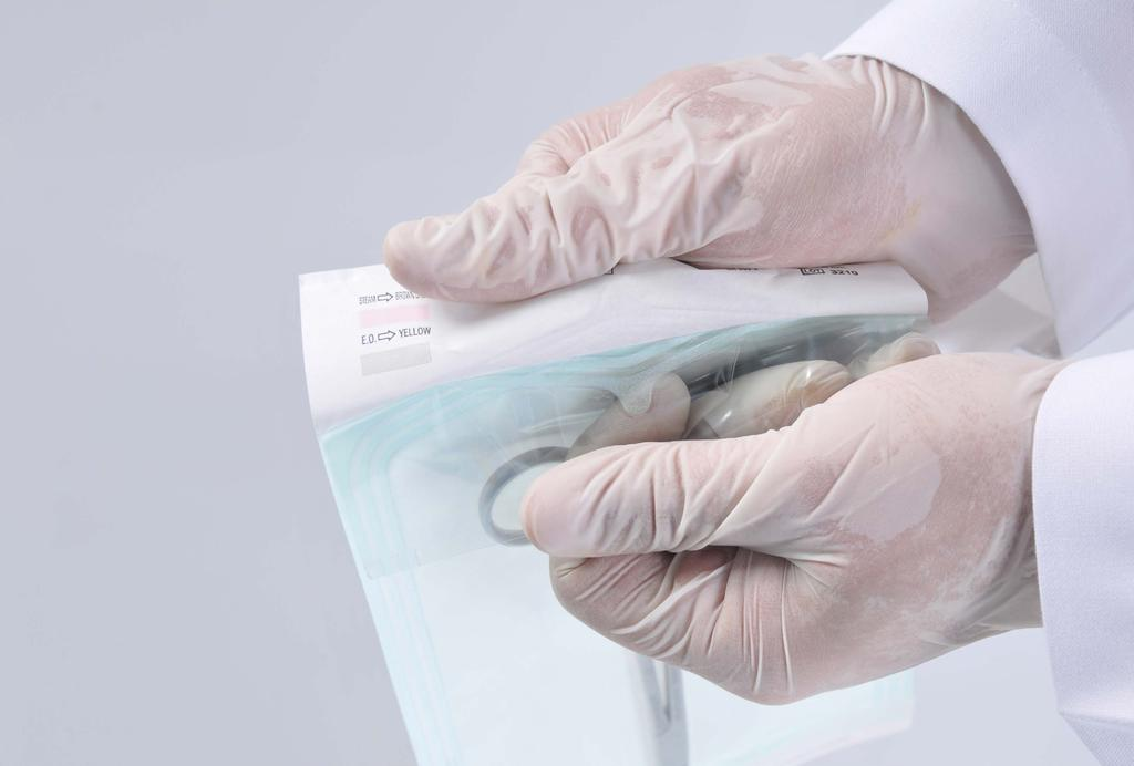 STERILIZATION PACKAGING PRODUCTS PMSSteripack sterilization packaging products are developed and