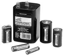 Bright Star Alkaline Batteries 7520 D-cell 1.5-volt 7522 C-cell 1.5-volt 7524 AA-cell 1.5-volt 7526 AAA-cell 1.