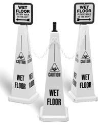 Instrumental in these efforts has been Lamba s 2x4 TM safety floor sign.