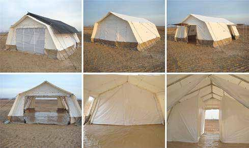 Multi-purpose Tent 14 Tent: Multi-purpose Tent, Multi-purpose, 45m 3 Item code 1100000064 Unit weight 194kg Unit colume 0.