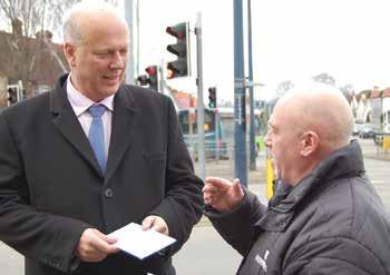 downsmail.co.uk Minister fights traffic to meet Tory hopefuls CAMPAIGNING moved up a gear with the arrival of the Secretary of State for Transport, Chris Grayling, in Maidstone.