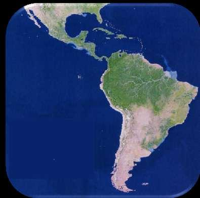 Latin America spans 7,000 miles, from Mexico to Tierra Del Fuego *3 Regions: Central America, South