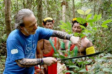 * Native peoples of the Amazon rainforest have used different plants for centuries as cures and potions for their health and survival.