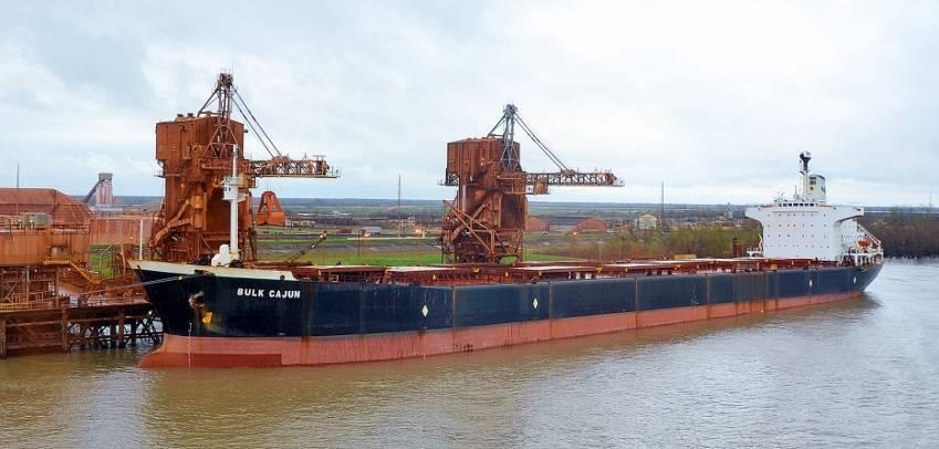 for demolition in Turkey. At Aliaga shipbreaking yards Captain Selim Bulk Cajun (ex-trident Protector, ex-amadeus, ex-ocean Builder). IMO 8200450. Bulk carrier. Length 225 m, 11,640 t.