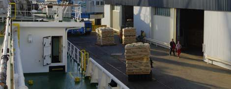 The Karl case is leading to food waste. Brest is the premier French shipping port of potatoes.