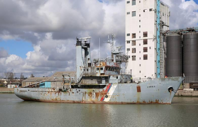 She was acquired in 2002 by Suffolk Petroleum Services, based in Lowestoft (United Kingdom) and became Lorna.