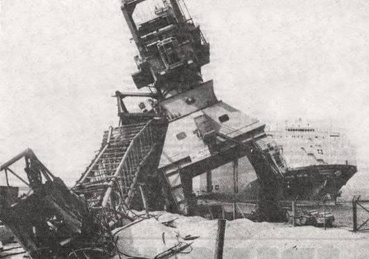 On February 27, 1983, for Sigyn s third entry into the port of Barsebäck nuclear plant, a drifting cable got mixed up with a bow thruster and paralyzed the ship s movements despite the assistance of