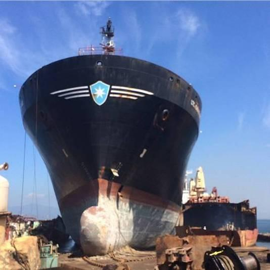 Frits Olinga LTC John UD Page Military Sealift Command In 2000, after 15 years of trading life, she was acquired by Maersk Line Ltd-USA (USA), the American branch of the Danish AP Moller Maersk, and
