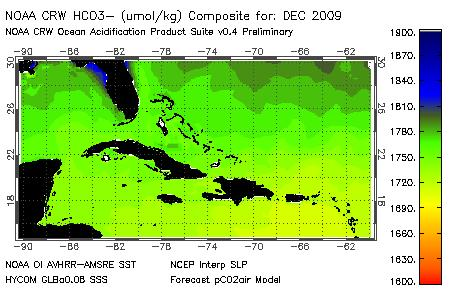 NOAA Coral Reef Watch Climate Change Workshops Ocean acidification tracking for the Greater Caribbean UNEP report chapter: An Overview of