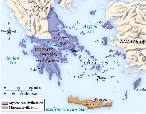 Mediterranean Society under the Greeks