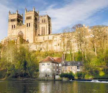 From our base on the outskirts of Darlington we have two contrasting excursions Durham, a delight to visit at this festive time then into North Yorkshire across the scenic Cleveland Hills.