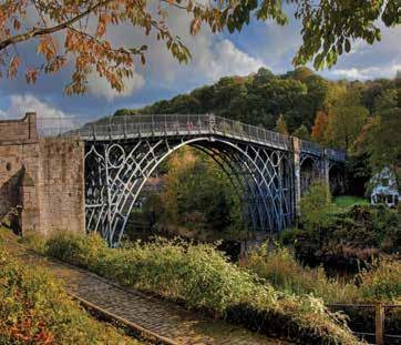 This new tour includes a visit to Shrewsbury and Ironbridge.