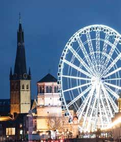 Saturday Today we visit Cologne which is home to no less than six Christmas markets, of which the most famous is adjacent to the cathedral which provides a magnificent backdrop.