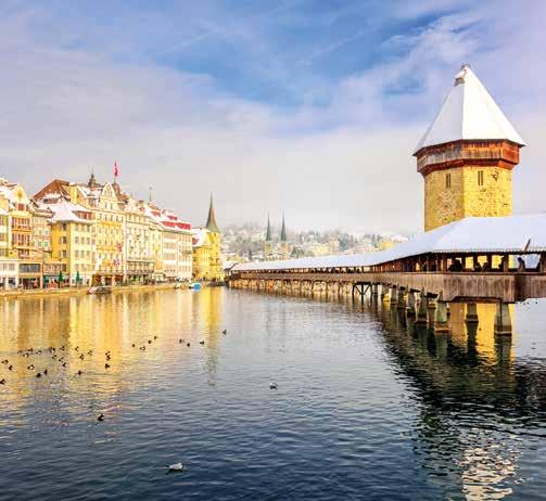 Christmas in Switzerland 7 DAY included 2 nights with bed & buffet breakfast Junfrau train journey Lucerne HOTEL 799 Grindelwald Join us on a wonderful Swiss Christmas tour where the scenery and