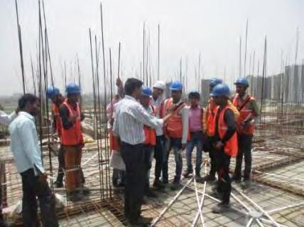 site visit of Star Rameshwaram Group housing project of Star Realcon