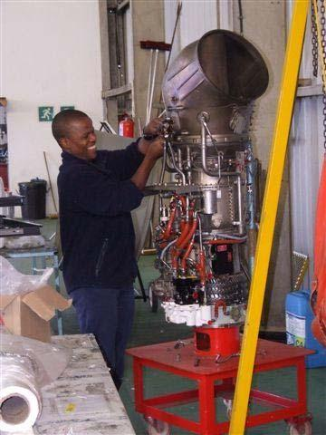MAINTENANCE Maintenance of our fleet of helicopters and airplanes is controlled by the South African Civil Aviation Authority and monitored inhouse by our safety & quality systems.
