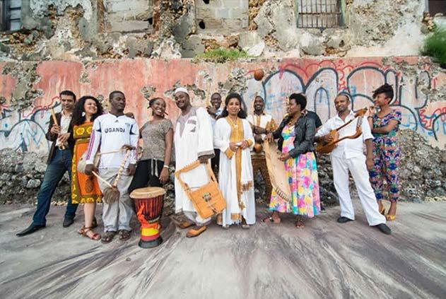 The Nile Project Musicians Photo credit: Peter Stanley In a recent interview, Girgis was asked what he hoped The Nile Project would be doing ten years from now.