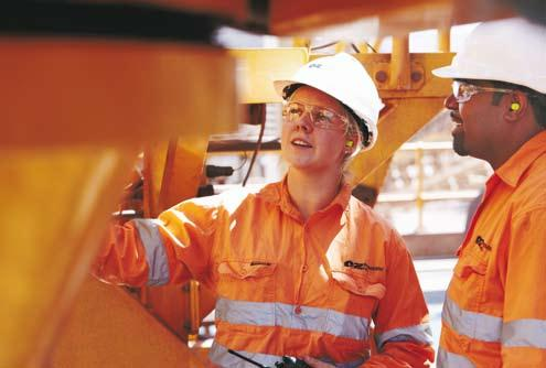 SUSTAINABILITY our people SAFETY AND HEALTH 51 local and indigenous trainees have gained employment at Prominent Hill through our pre-employment program OZ Minerals recognises that the capability,